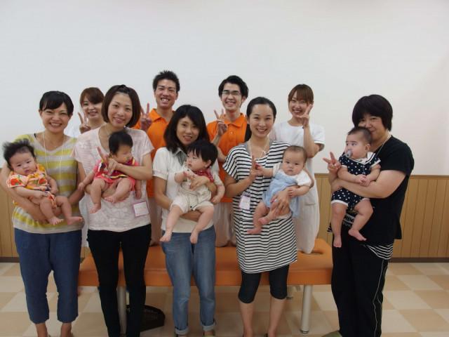 産後ママさん達との集合写真